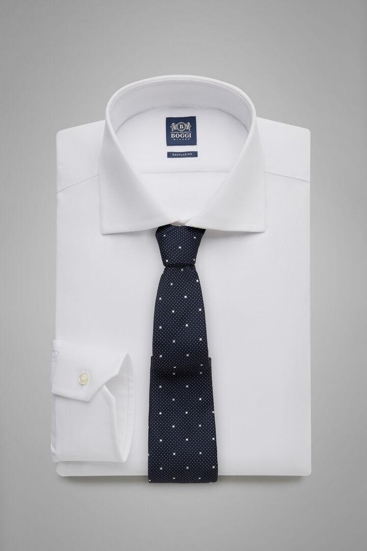 Hemd Azurblau Mit Windsor-Kragen Regular Fit, Weiß, hi-res