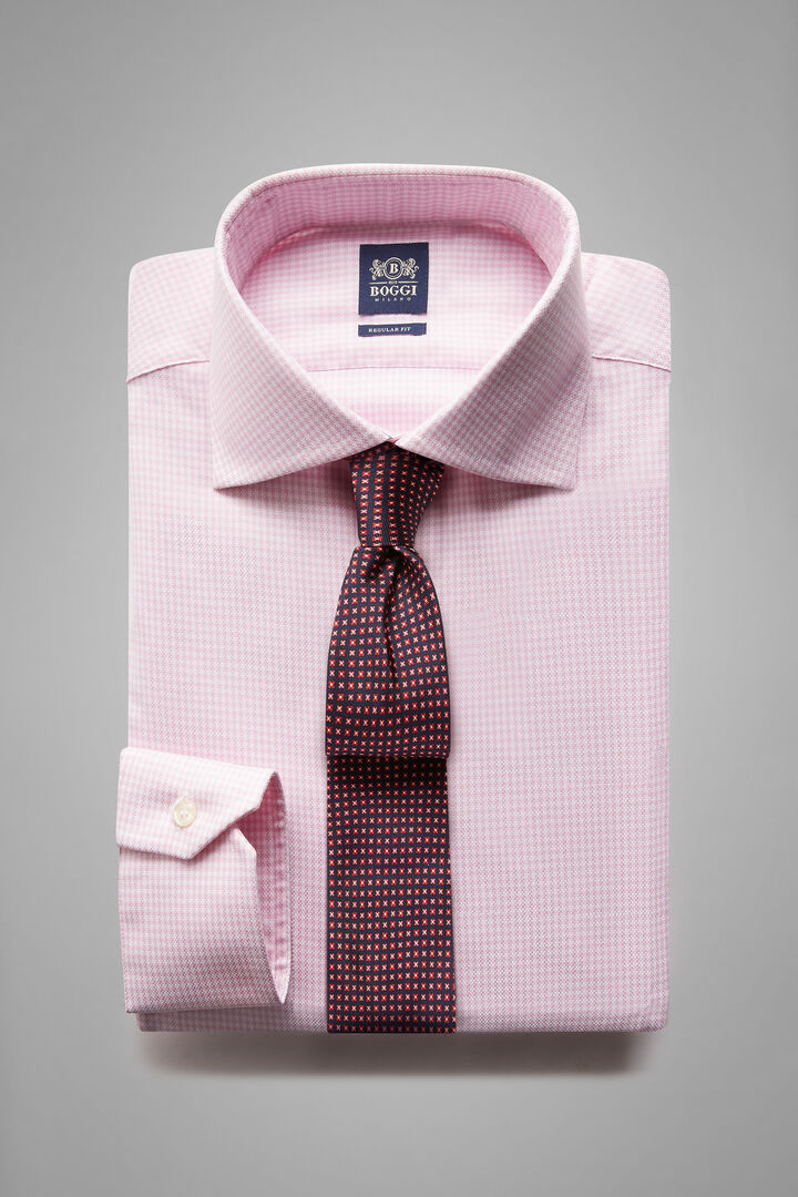 Camicia Rosa Collo Windsor Regular Fit, Rosa, hi-res