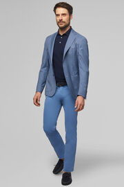 BLUE/SKY BLUE PURE WOOL ARIA BLAZER, BLUE - LIGHT BLUE, hi-res