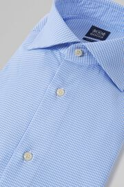 CAMICIA AZZURRA COLLO WINDSOR REGULAR FIT, AZZURRO, hi-res