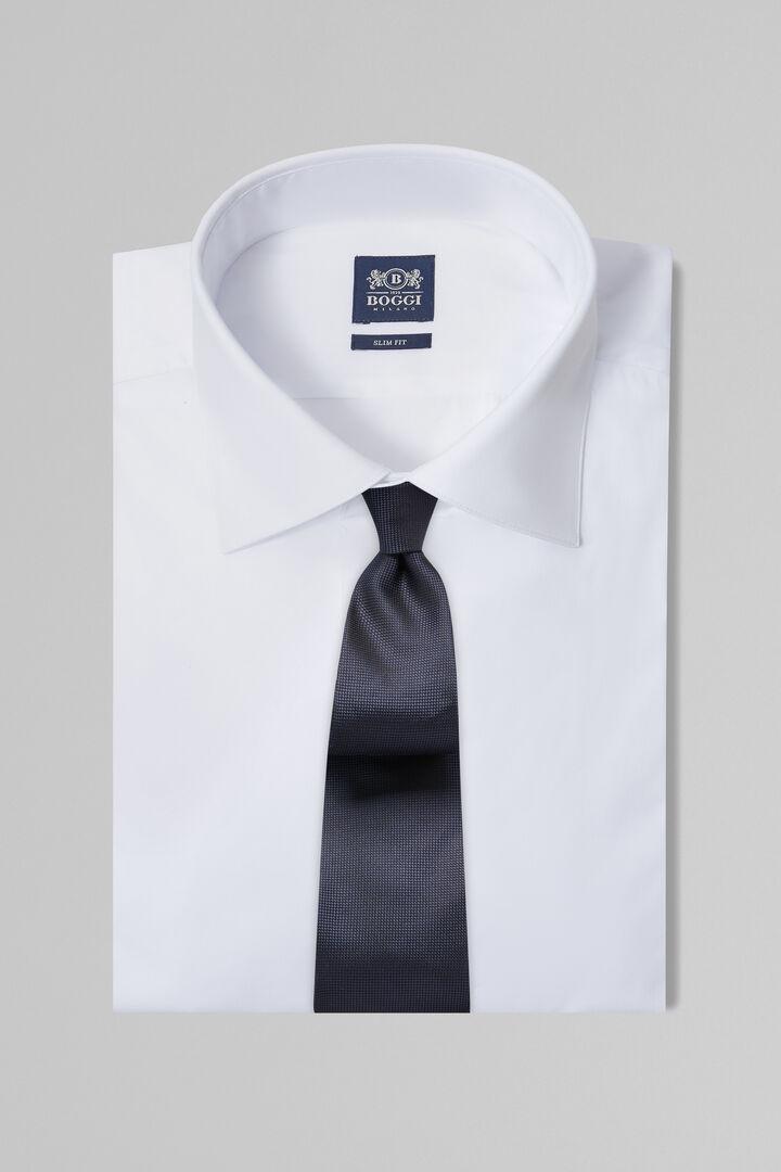 Chemise Blanche À Col New York Coupe Ajustée, blanc, hi-res