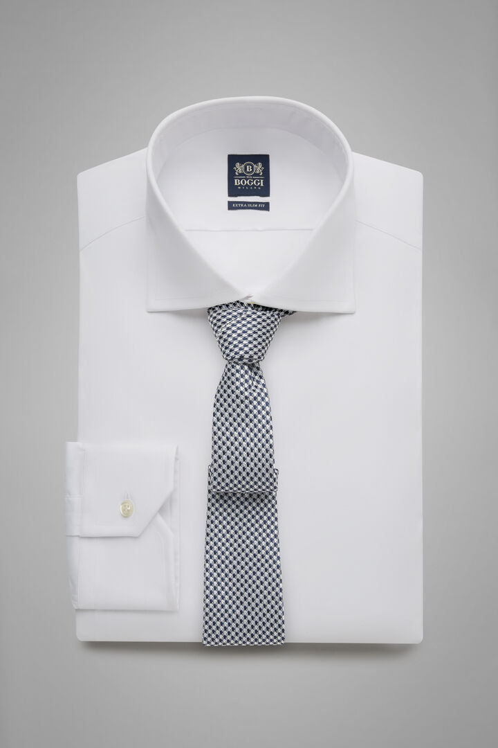 Camicia Bianca Collo Windsor Extraslim Fit, Bianco, hi-res