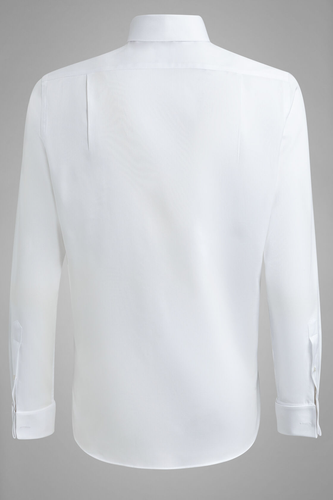 Camicia Bianca Collo Diplomatico Regular Fit, Bianco, hi-res