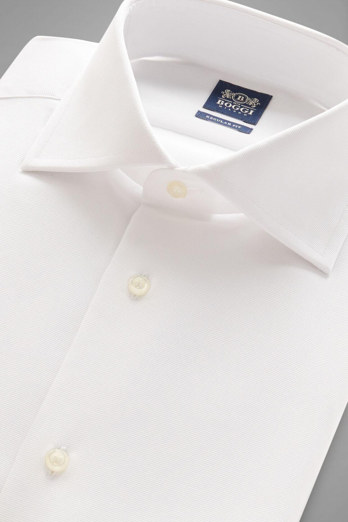 Camicia Bianca Collo Windsor Regular Fit, Bianco, hi-res