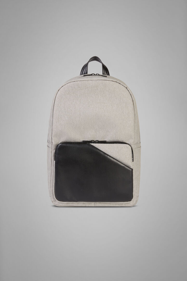 Backpack, Grey - Black, hi-res