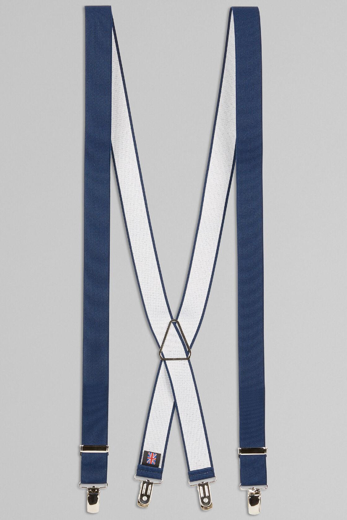 Elastische hosenträger, Blau, hi-res