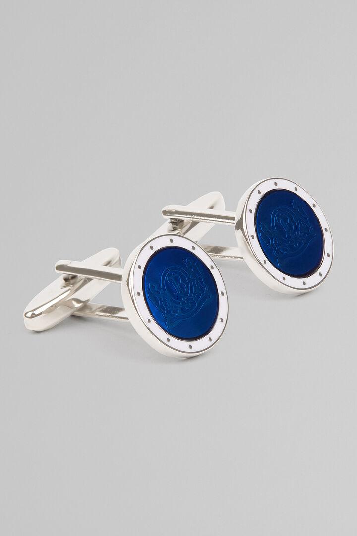 Gemelos De Color Con Logo, Azul, hi-res