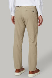Hose aus nylonstretch regular fit, Beige, hi-res