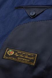 Blau karierter anzug aus super 150-wolle, Blau, hi-res