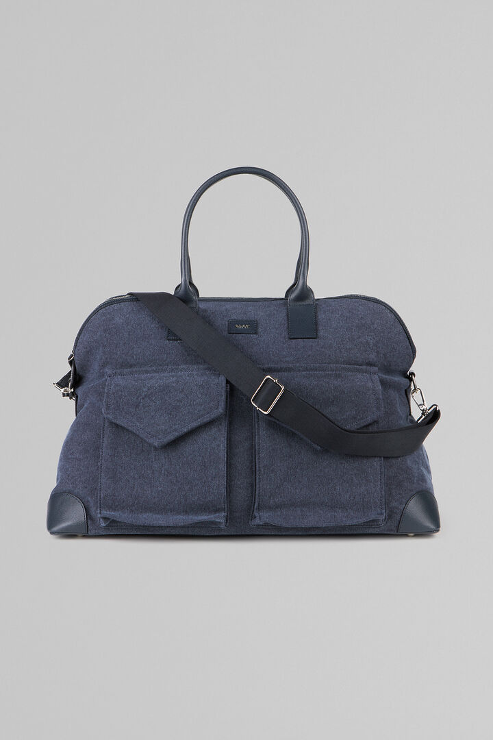 Canvas Mare Holdall, Blue, hi-res
