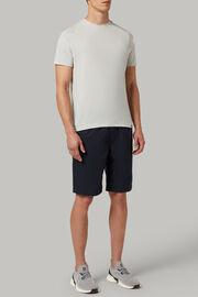 T-shirt aus technischem und nachhaltigem jersey, Weiß, hi-res