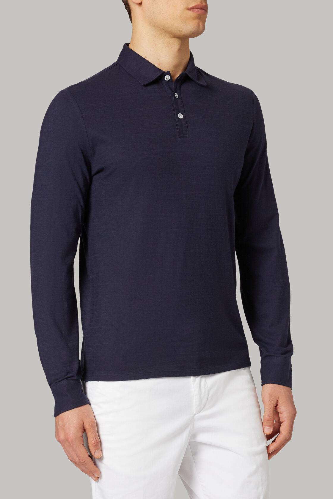 Polo aus baumwolljersey regular fit, , hi-res