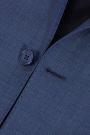 COSTUME BLEU PÉTROLE ANVERS EN LAINE STRETCH, AIR BLUE, hi-res