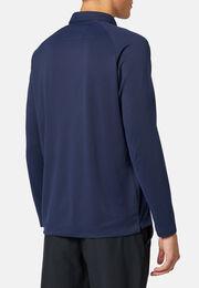 Poloshirt polartec®power dry® regular fit lange ärmel, Navy blau, hi-res