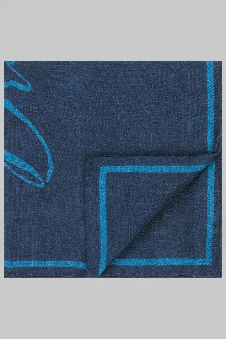 Pochette Dream En Laine Et Soie, Bleu - bleu clair, hi-res