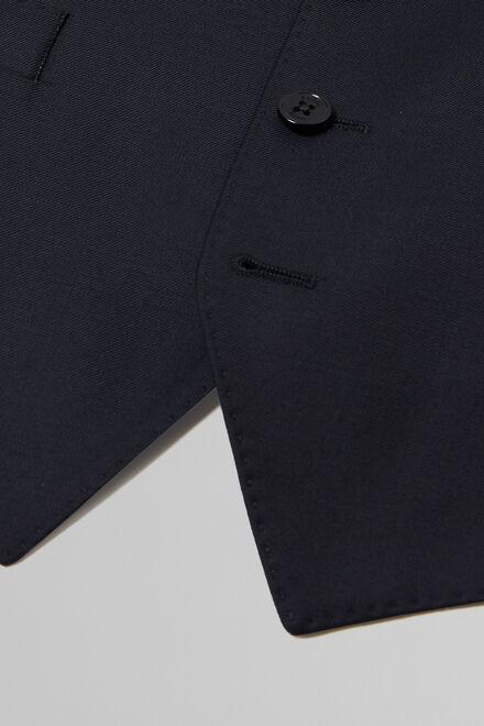 Weste aus marineblauer wolle, Navy blau, hi-res