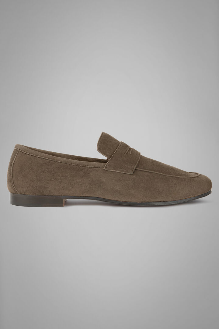 Breathable Suede Loafers, Taupe (Turtle-dove), hi-res