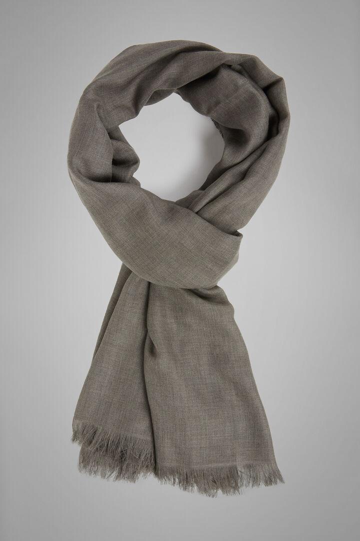 Einfarbiger Schal Aus Modal Und Kaschmir, Taupe (Turteltaube), hi-res
