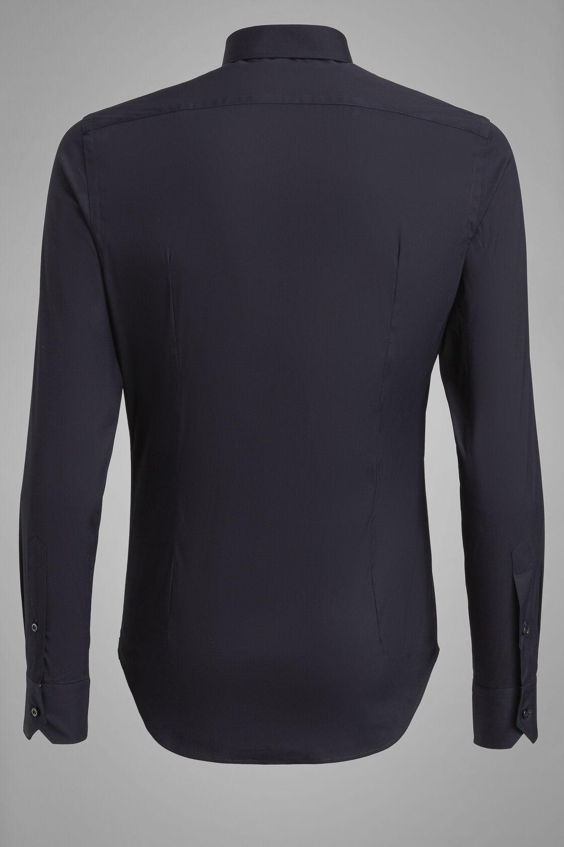 Hemd Blau Mit Tokyo-Kragen Extraslim Fit, Navy blau, hi-res