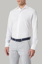 Bandgürtel Mit Elastischer Flechte, Navy blau, hi-res