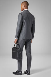 Grey Wool Napoli Suit, Grey, hi-res