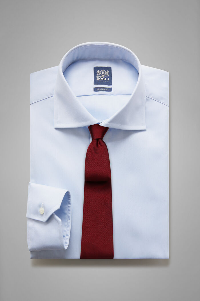 Camicia Azzurra Collo Windsor Regular Fit, , hi-res
