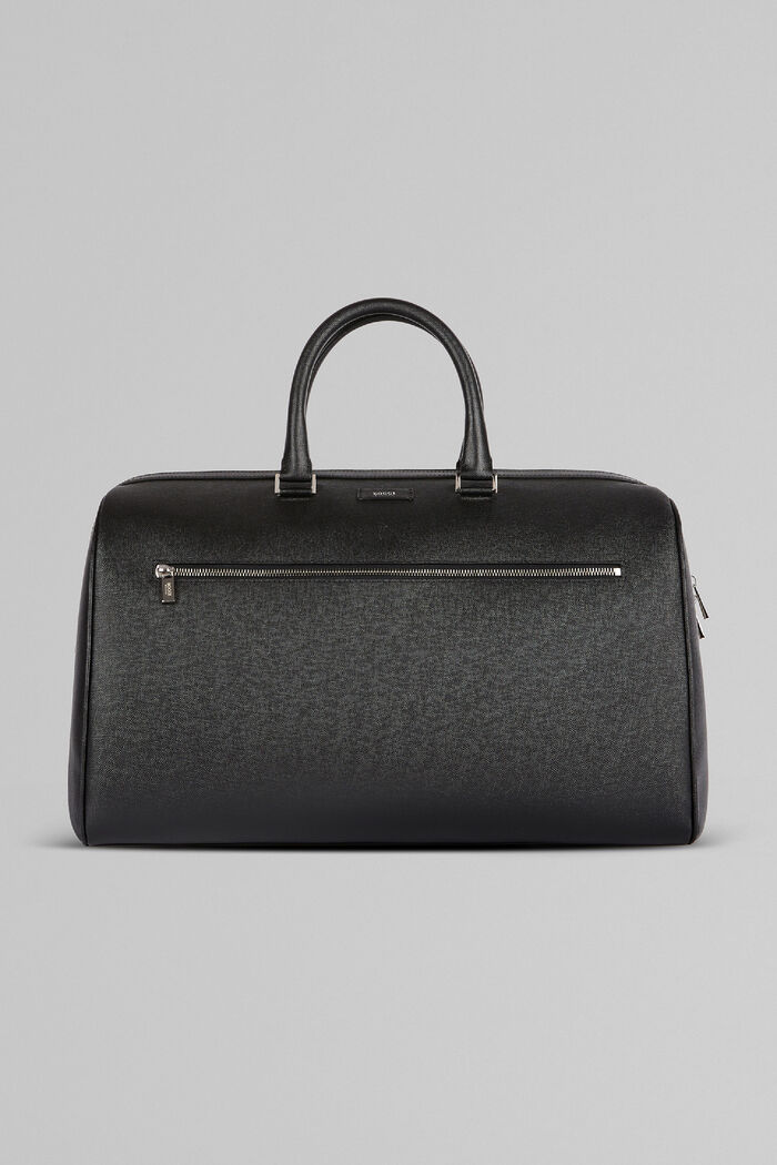 Caviar Print Leather Boston Bag, , hi-res