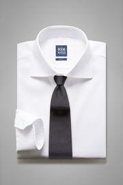 Weisses hemd aus baumwollstretch slim fit, Weiß, hi-res