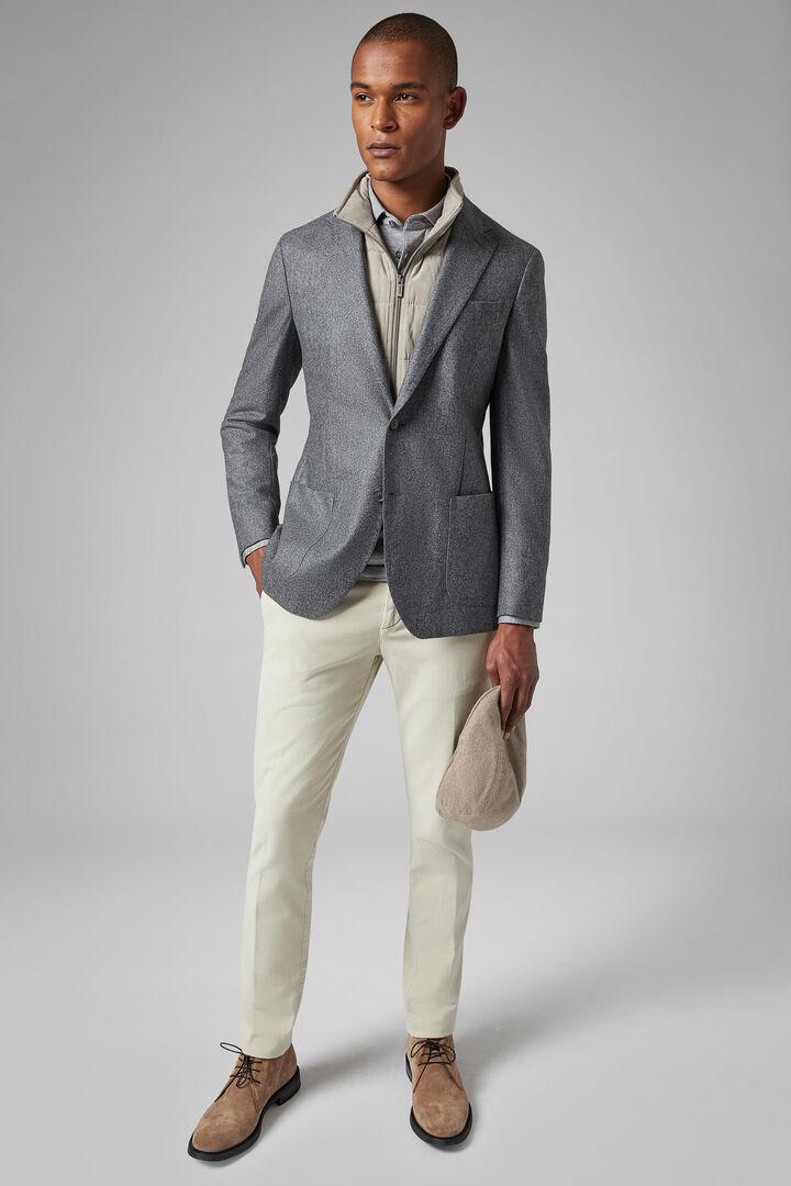 Grey Wool Amsterdam Blazer, Grey, hi-res