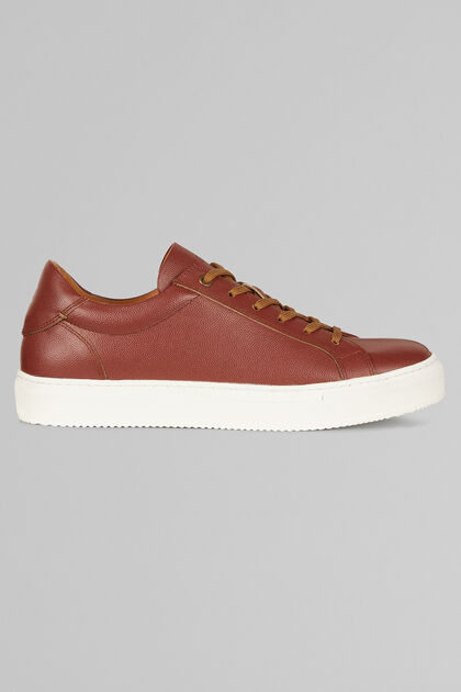 CAVIAR LEATHER TRAINERS, LEATHER BROWN, hi-res
