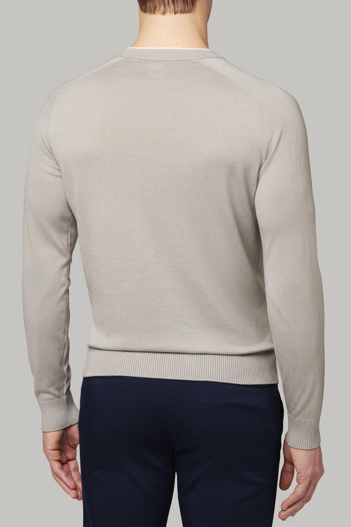 Cashmere blend crew neck sweater, , hi-res