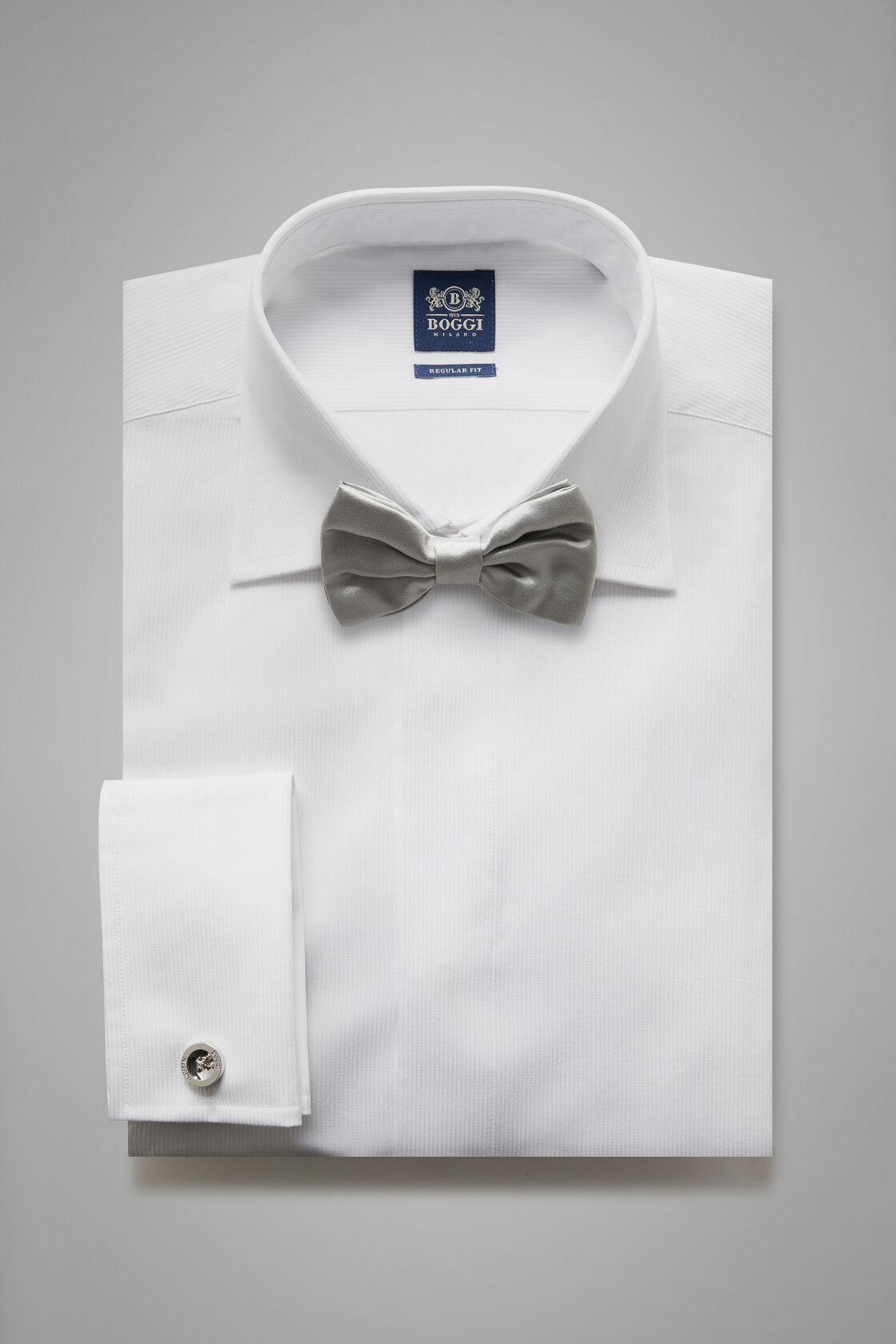 Weisses baumwollhemd regular fit, Weiß, hi-res