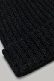 Mütze aus kaschmir, Schwarz, hi-res