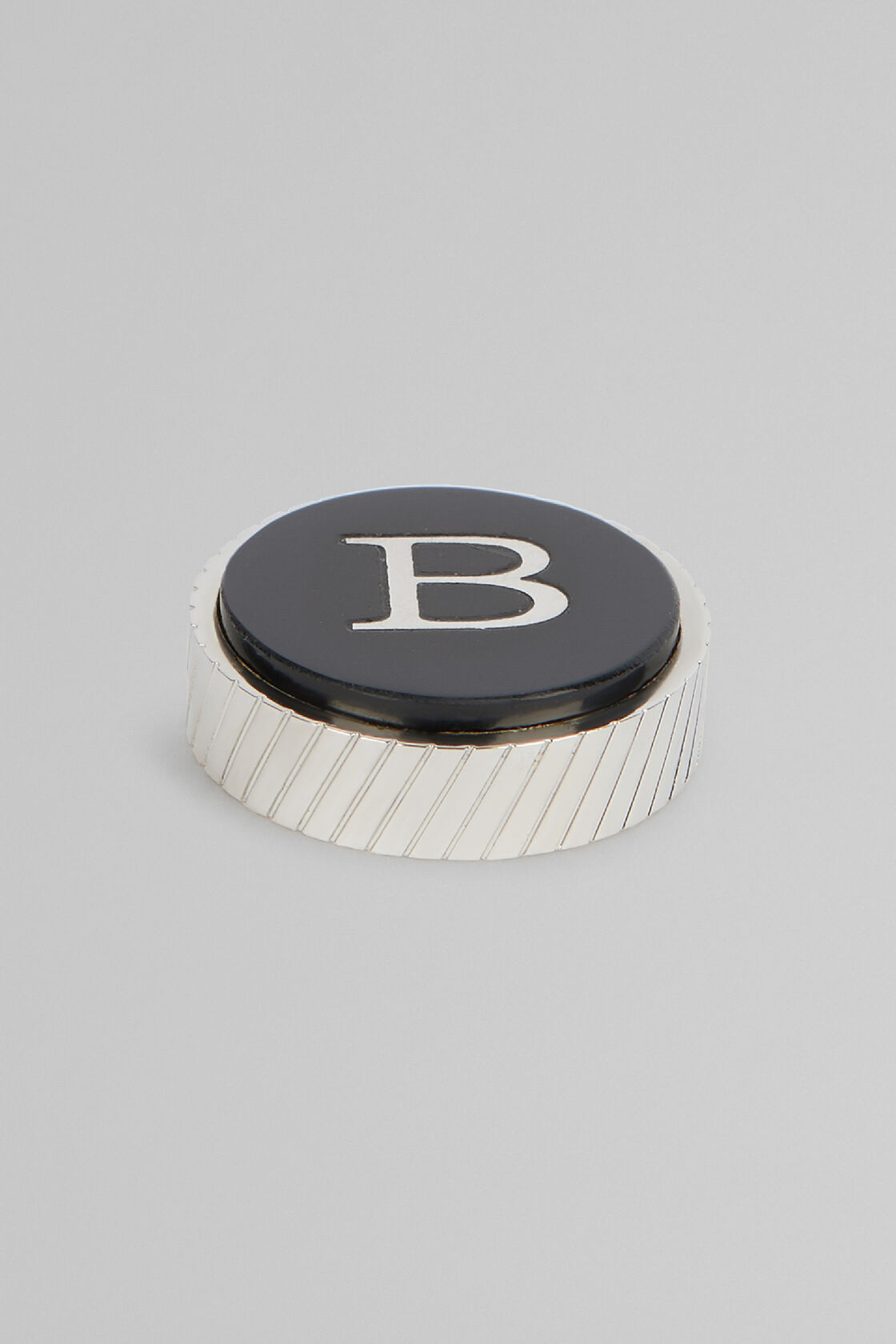 Metal Letter B Cufflinks, , hi-res