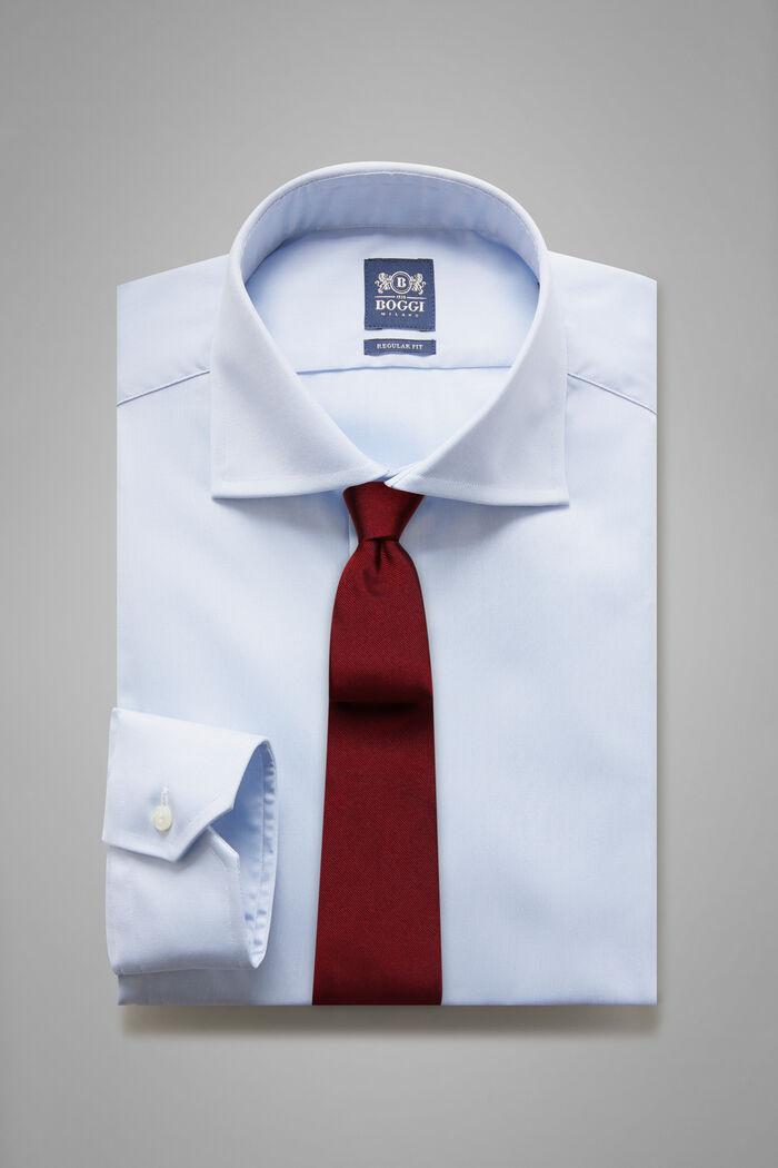 Camicia Azzurra Collo Windsor Regular Fit, , hi-res