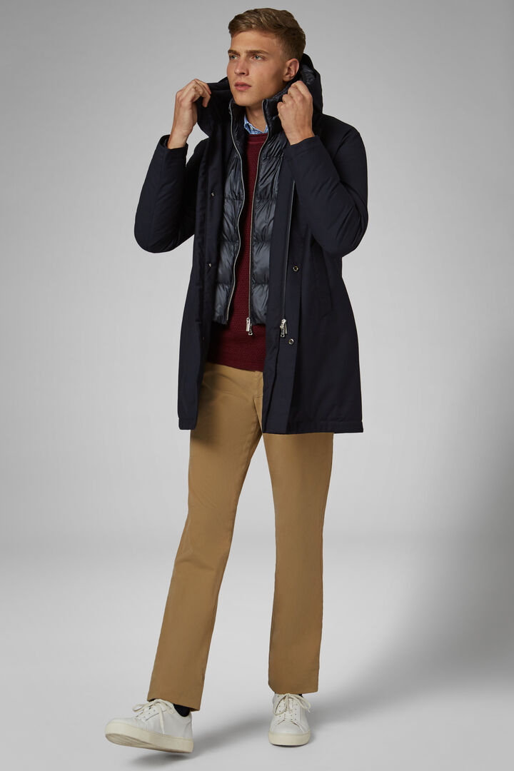 COLD WINTER - OUTERWEAR - NAVY BLUE, , hi-res