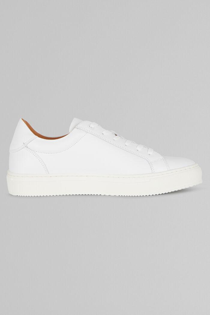 Sneakers En Cuir Lisse, , hi-res