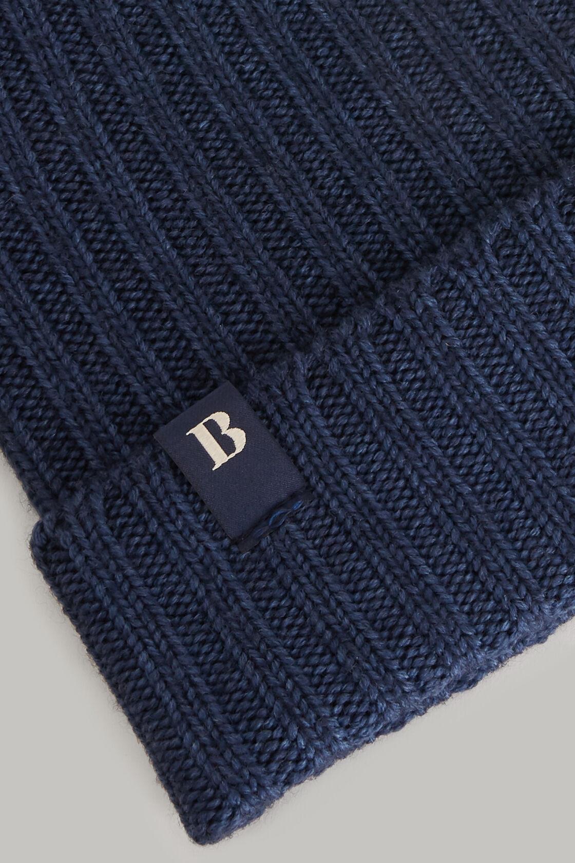 Berretto in lana, Navy, hi-res