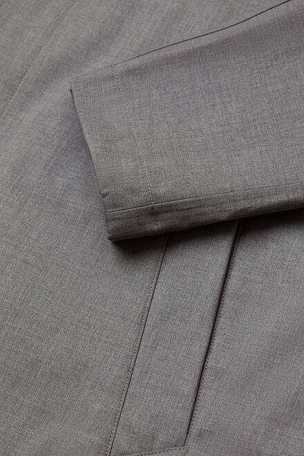 Wasserbeständige Wolljacke, Grau, hi-res