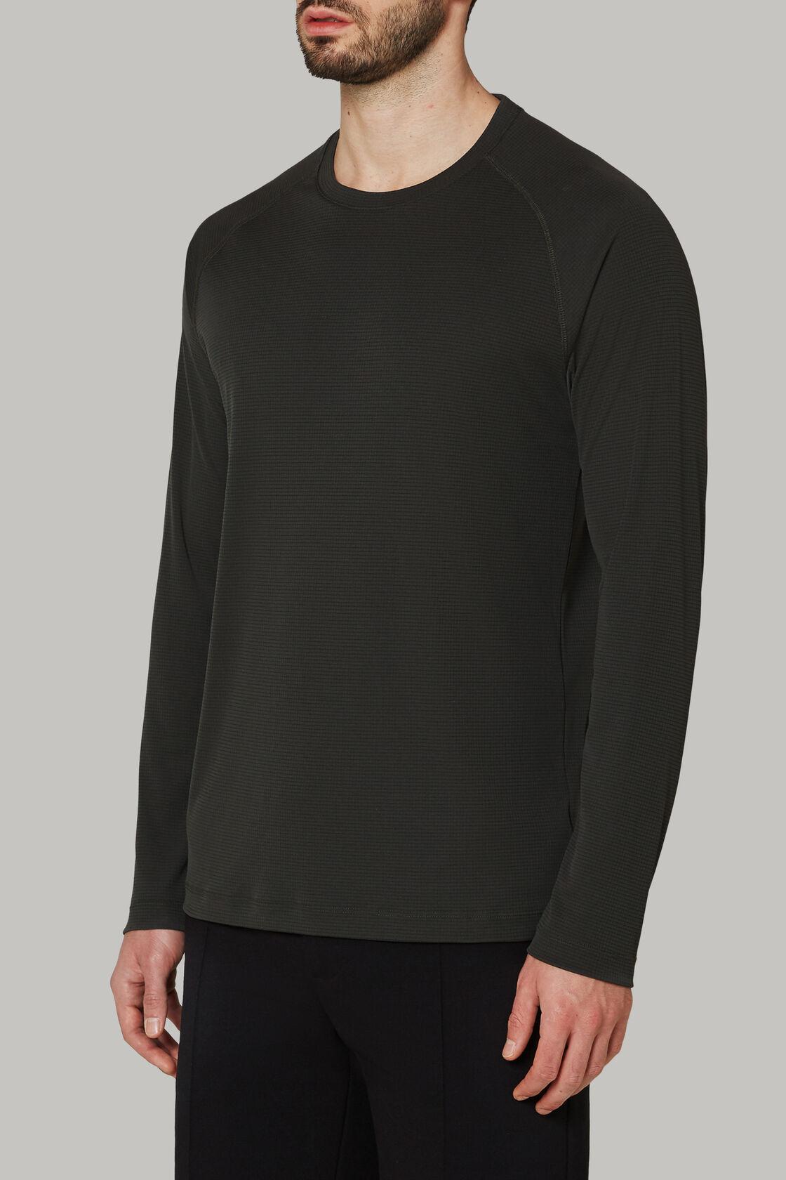 T-shirt aus technischem und nachhaltigem jersey, Militärgrün, hi-res