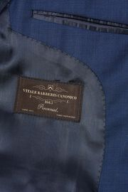 Blue Wool Milano Suit Jacket, Blue, hi-res
