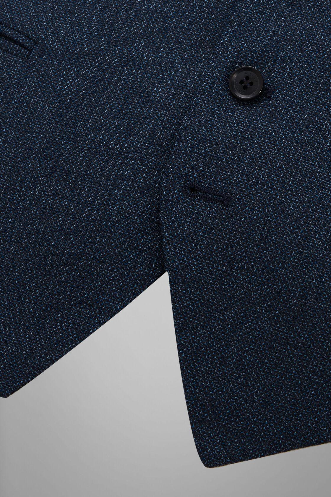 Anzugweste Blau Nizza Aus Wolle, Blau, hi-res