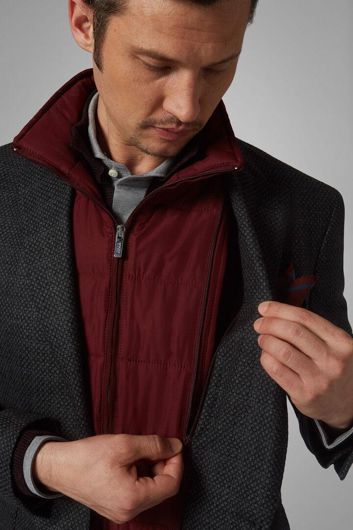 Dark Grey Wool Amsterdam Blazer, Dark Grey, hi-res