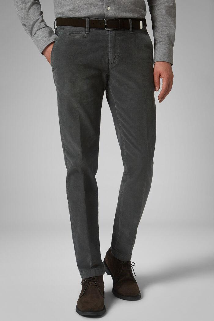 Pantalone In Velluto A Coste Slim, , hi-res