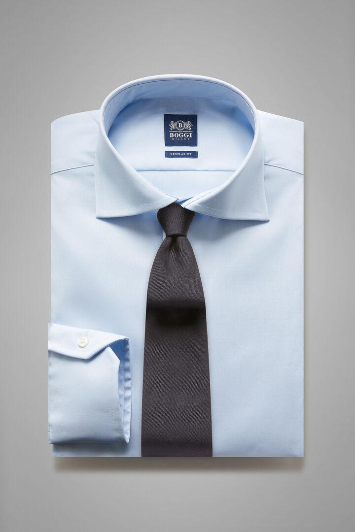 Camicia Azzurra Collo Windsor Regular Fit, Azzurro, hi-res