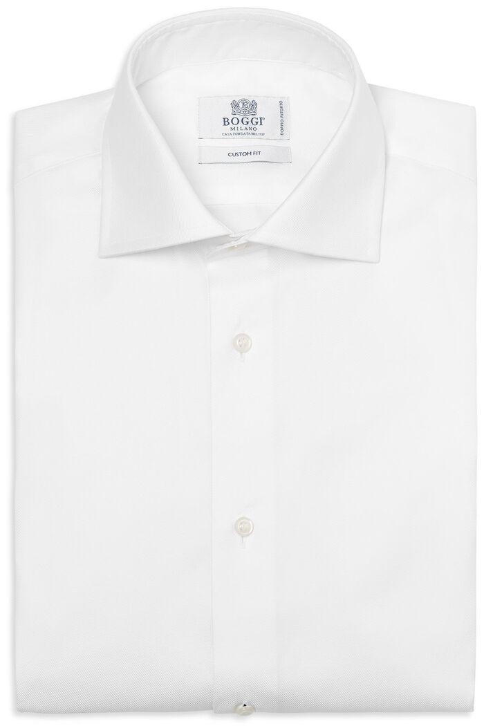 Camicia Bianca Collo Windsor Slim Fit, , hi-res