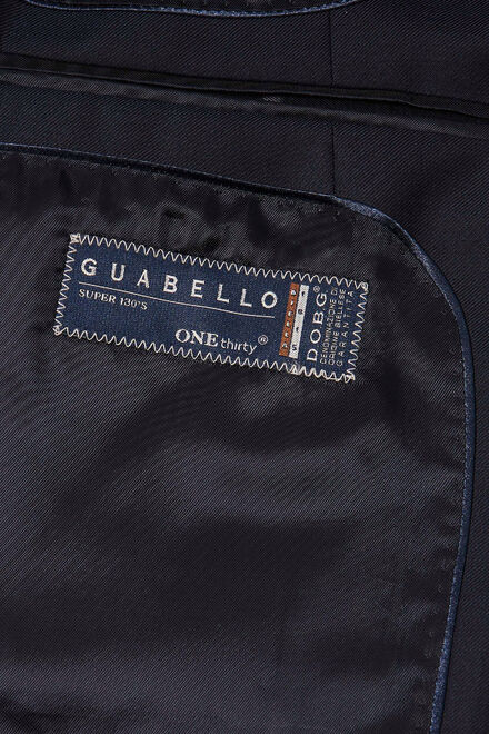Marineblaue jacke aus super 130-wolle, Navy blau, hi-res