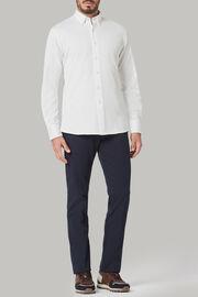 Polohemd aus baumwoll-jersey regular fit, Weiß, hi-res