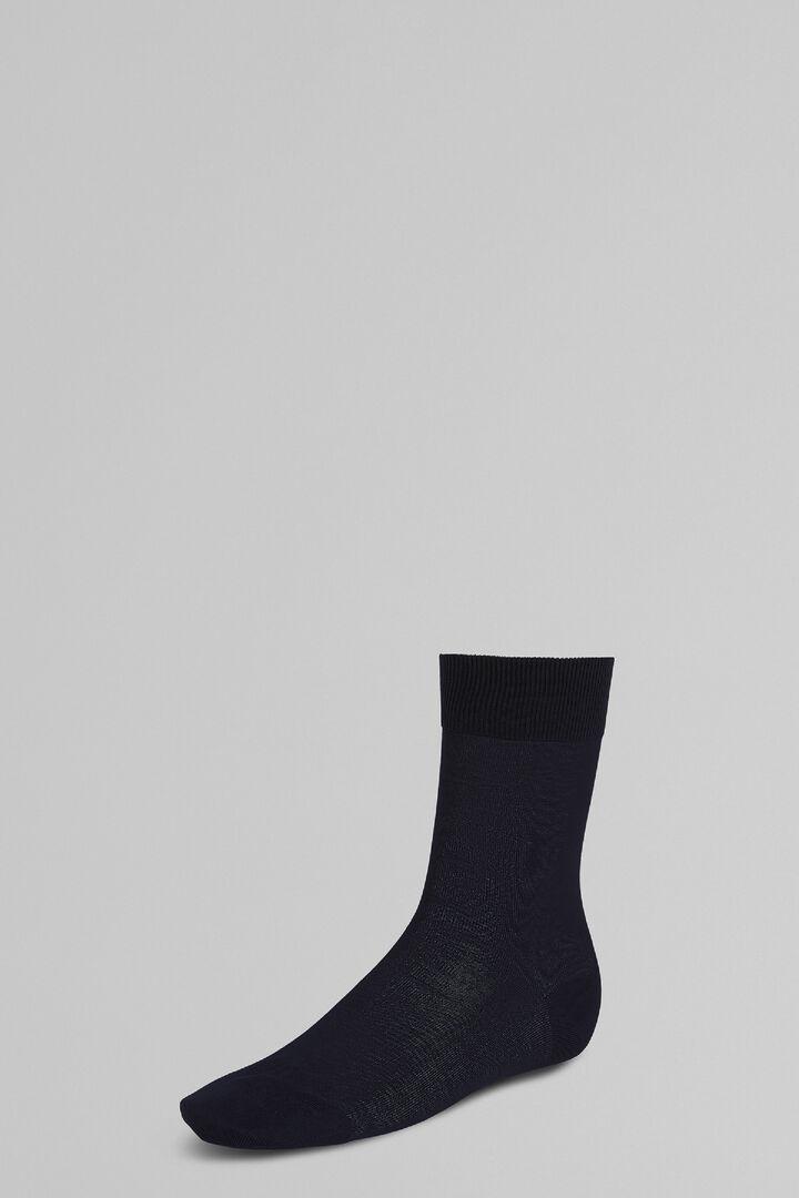 Short Socks, Blue, hi-res