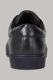 Marineblaue Sneaker Aus Bottalato-Leder, Navy blau, hi-res